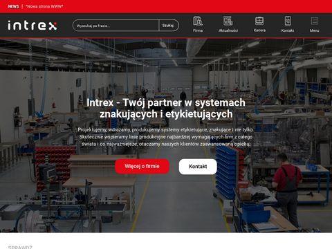 Znakowanie i etykietowanie Intrex