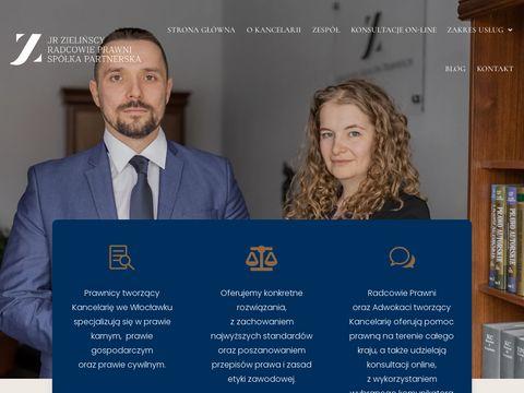 JR Kancelaria Radcy Prawnego Radca Prawny Joanna Zielińska