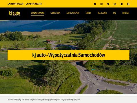 Kj auto - Wypo偶yczalnia Samochod贸w