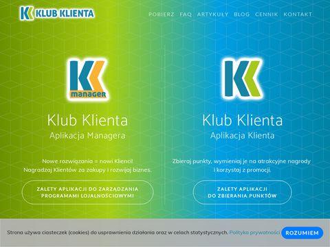 Klub Klienta - Mobilne programy lojalnoÅ›ciowe
