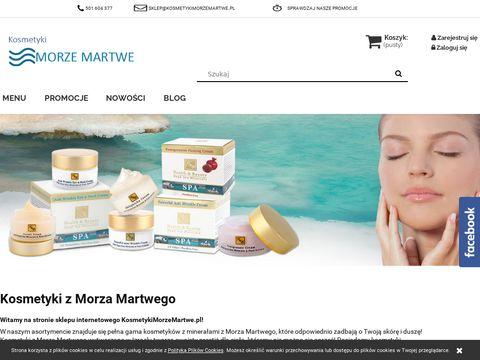 KosmetykiMorzeMartwe.pl - najlepsze z Izraela
