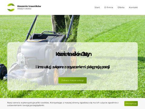 Koszenie trawnik贸w Olsztyn