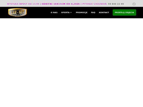 wywołanie zdjęć przez Internet lab-net.pl