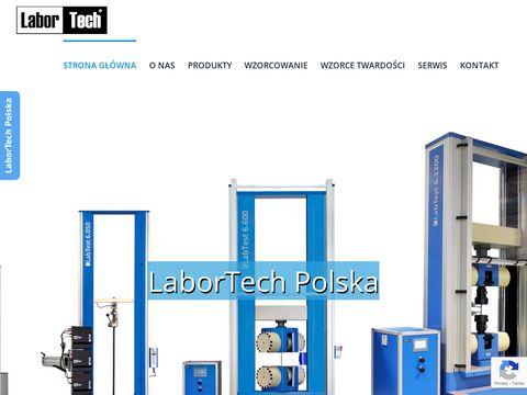 Maszyny wytrzyma艂o艣ciowe - Labortech.pl