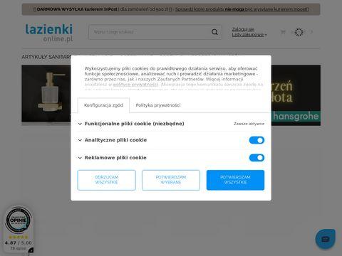 Wyposażenie łazienki i toalety - lazienkionline.pl