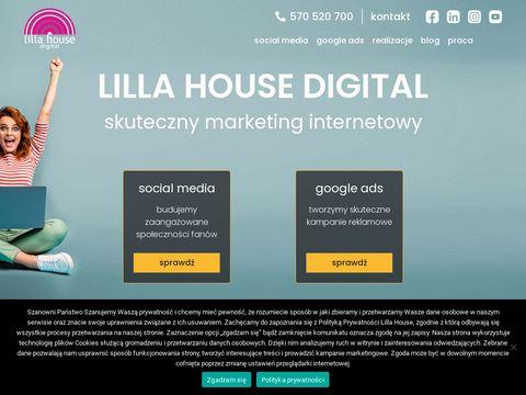 Marketing Internetowy - Social Media, Google Ads | Lilla House Digital