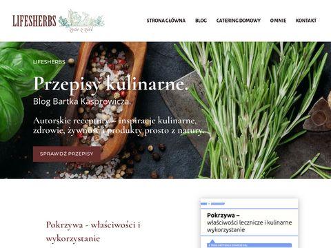Przepisy kulinarne i zdrowa żywność
