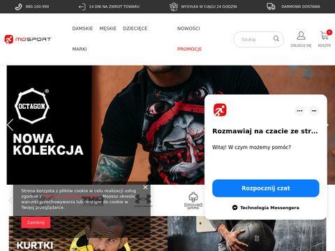 Odzież sportowa - sklep marki Under Armour, Pit Bull