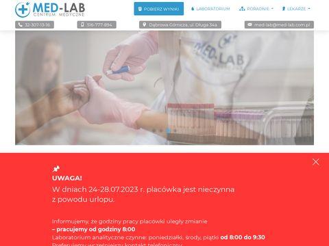 Centrum Medyczne MED-LAB Dąbrowa Górnicza