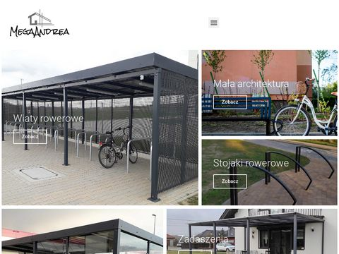 Producent wiat rowerowych i kontrukcji stalowych   Mega Andrea