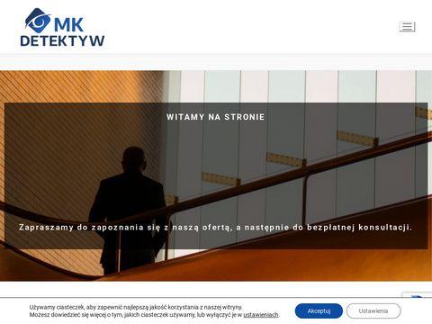 PRYWATNY DETEKTYW - M&K MICHAŁ KAMIŃSKI BIURO DETEKTYWISTYCZNE - KRAKÓW