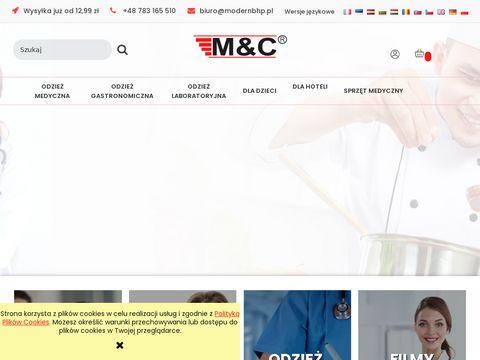 Odzież medyczna - modernbhp.pl