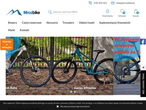 Mrozbike sklep rowerowy Bydgoszcz akcesoria rowerowe online