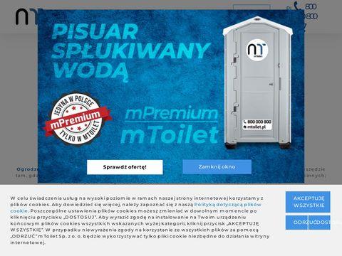 Wynajem kabin toaletowych - mToilet Sp. z o.o.