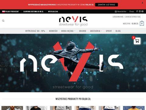 Nevis-Shop - sklep z odzieżą męską
