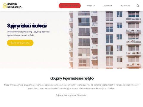 Odkupimymieszkanie.pl - skup nieruchomo艣ci, skup udzia艂贸w w nieruchomo艣ciach, Katowice, Krak贸w