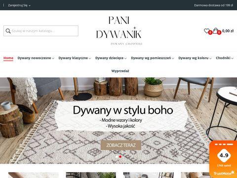 Pani Dywanik - Sklep internetowy z dywanami