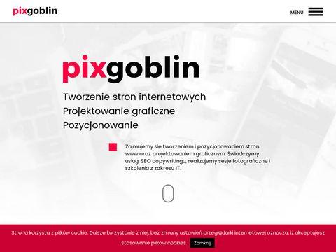 PIXGOBLIN - Tworzenie stron WWW | Projektowanie graficzne | Fotografia