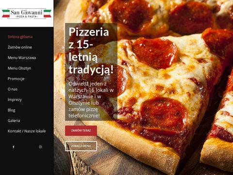 Najlepsza pizza w Warszawie - Pizzeria San Giovanni