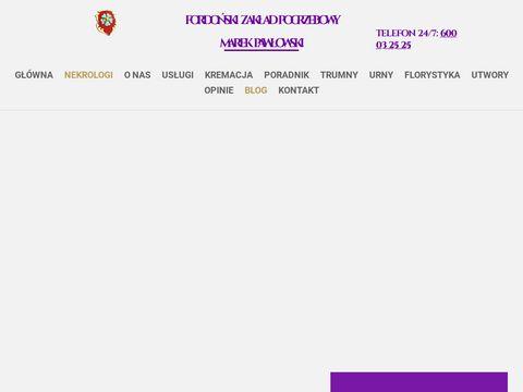 Zakład Pogrzebowy Bydgoszcz FORDOŃSKI: zakłady pogrzebowe