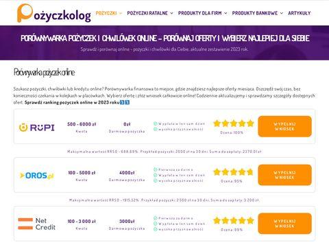 Pożyczka dla zadłużonych - pozyczkolog.pl