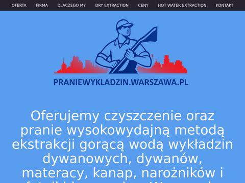 Pranie wykładzin dywanowych w biurach PranieWykladzin.Warszawa.pl