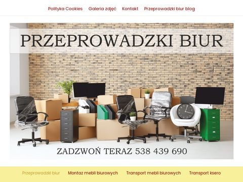Przeprowadzki biur Warszawa - przeprowadzki-biur-warszawa.pl