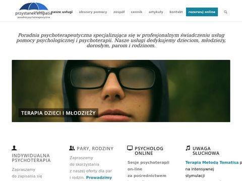 Leczenie depresji Warszawa - przystanekempatia.pl