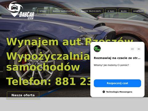 Rent Dab Car- Wypo偶yczalnia samochod贸w, wynajem aut Rzesz贸w