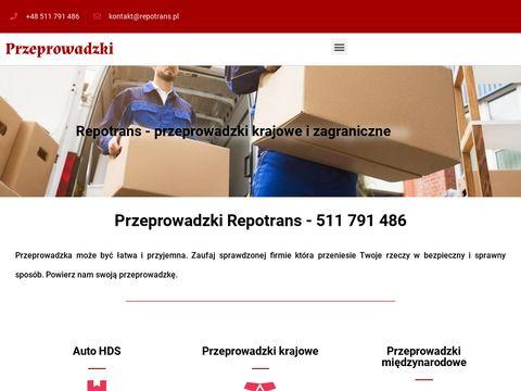 Repotrans.pl - Przeprowadzki