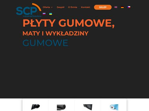 Maty gumowe SCP