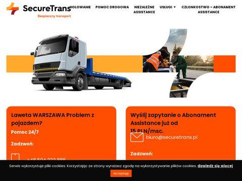 Laweta Warszawa, pomoc drogowa Warszawa - 504 222 888