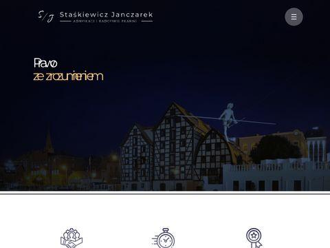 Kancelaria Prawna Sta艣kiewicz Janczarek Adwokaci i Radcowie Prawni