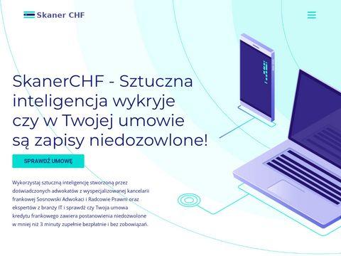 Skaner chf - skanerchf.pl