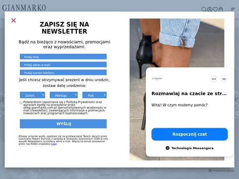 Sklep z butami - sklep.gianmarko.com.pl