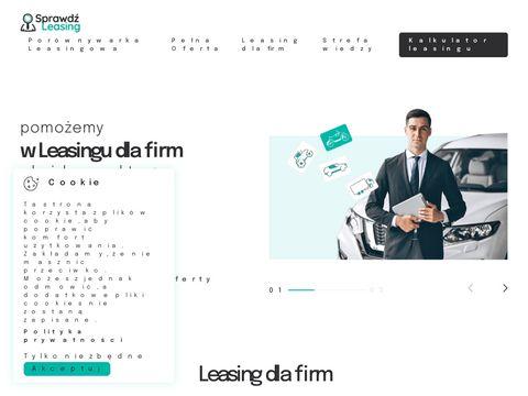 Porównywarka leasingowa