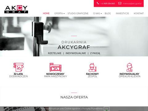 Studio.akcygraf.pl - Druk cyfrowy