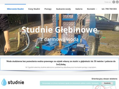 Wiercenie studni głębinowych - Wielkopolska, Poznań