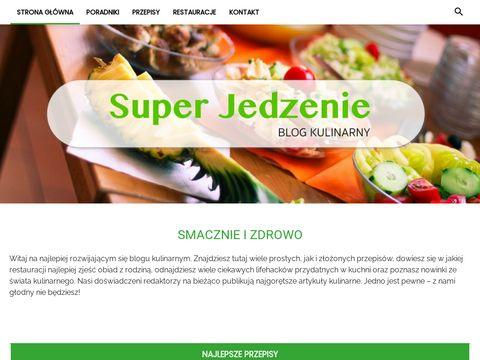 Blog kulinarny - jedzenie i smaczne przepisy