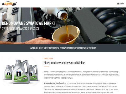 Syntol - Oleje P艂yny Filtry Akumulatory Chemia Samochodowa Kielce