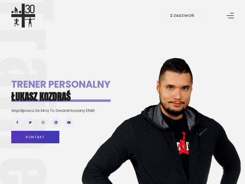 Trener Personalny Łukasz Kozdraś