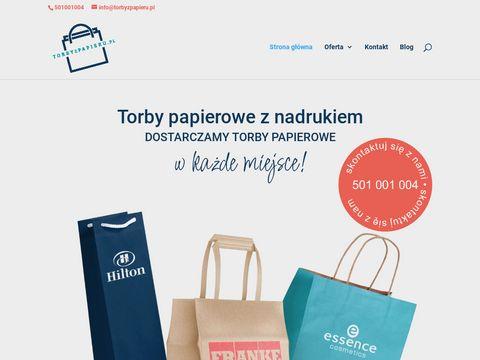 Torby Papierowe z nadrukiem - Producent Toreb Papierowych Warszawa