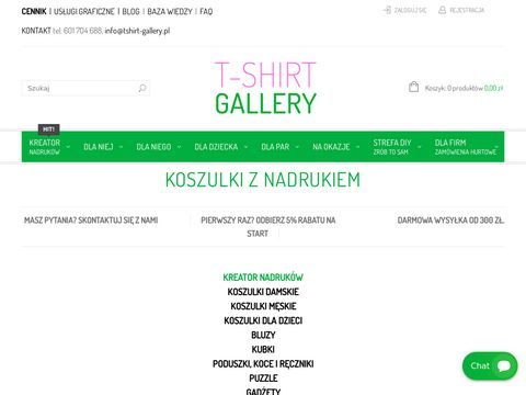 Tshirt-gallery - koszulki, bluzy, kurtki z własnym nadrukiem