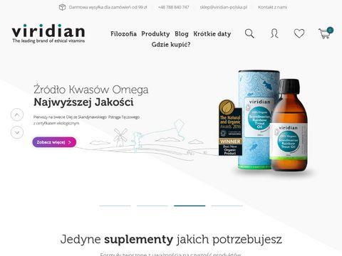 Viridian Nutrition Polska Dystrybutor