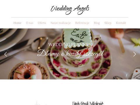 Organizacja 艣lubu - weddingangels.pl