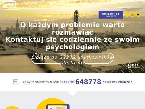 WeTalk.pl – psycholog online, pomoc psychologiczna