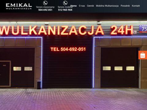Mobilna Wulkanizacja Warszawa