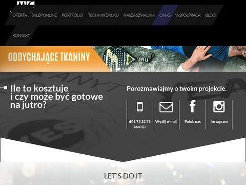 Koszulki z własnym nadrukiem na zamówienie - 123koszulki.pl