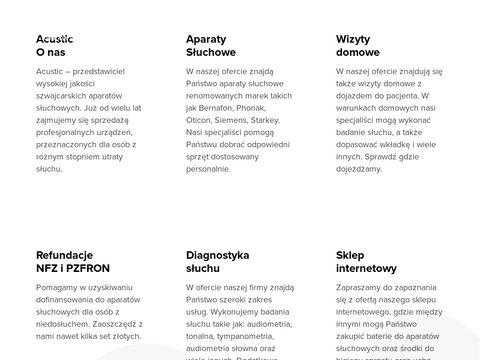 Acustic.pl - aparaty słuchowe i badania słuchu Bydgoszcz
