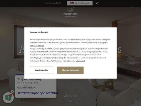 Apartamenty Columbus - tuż przy plaży w Ustce